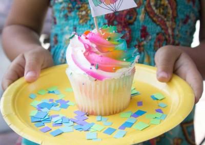 Kanga Koolers Cupcake on Plate