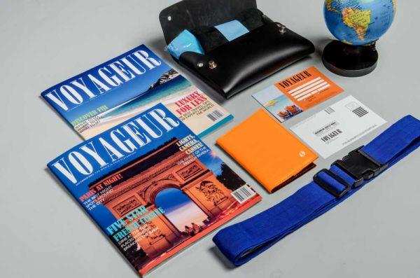 Design: Voyageur Magazine