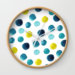 Polka Dot Sea Wall Clock