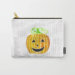 Pumpkin Halloween Jack-O-Lantern Carry-All Pouch