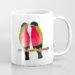 Australian Collared Lory Birds Coffee Mug