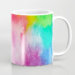 Rainbow Splash Watercolor Coffee Mug