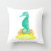 Seahorse Life Throw Pillow