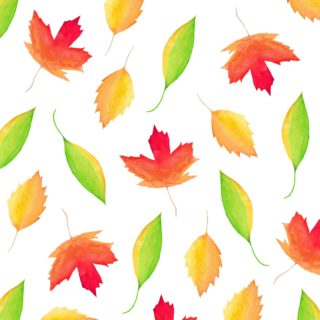Maple Leaves – Watercolor Art