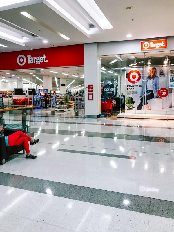 Target Store at Rhodes Waterside Mall in Sydney, Australia