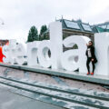 """favorite spots in Amsterdam - Aliya Bora posing at the """"I Amsterdam"""" Sign at the Rijksmuseum in Amsterdam, The Netherlands"""