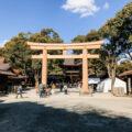layover in Tokyo - Torii Gate at the Meiji Shrine